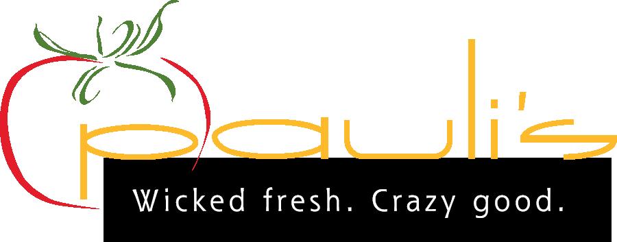 PAULI'S    Wicked fresh. Crazy Good. Logo