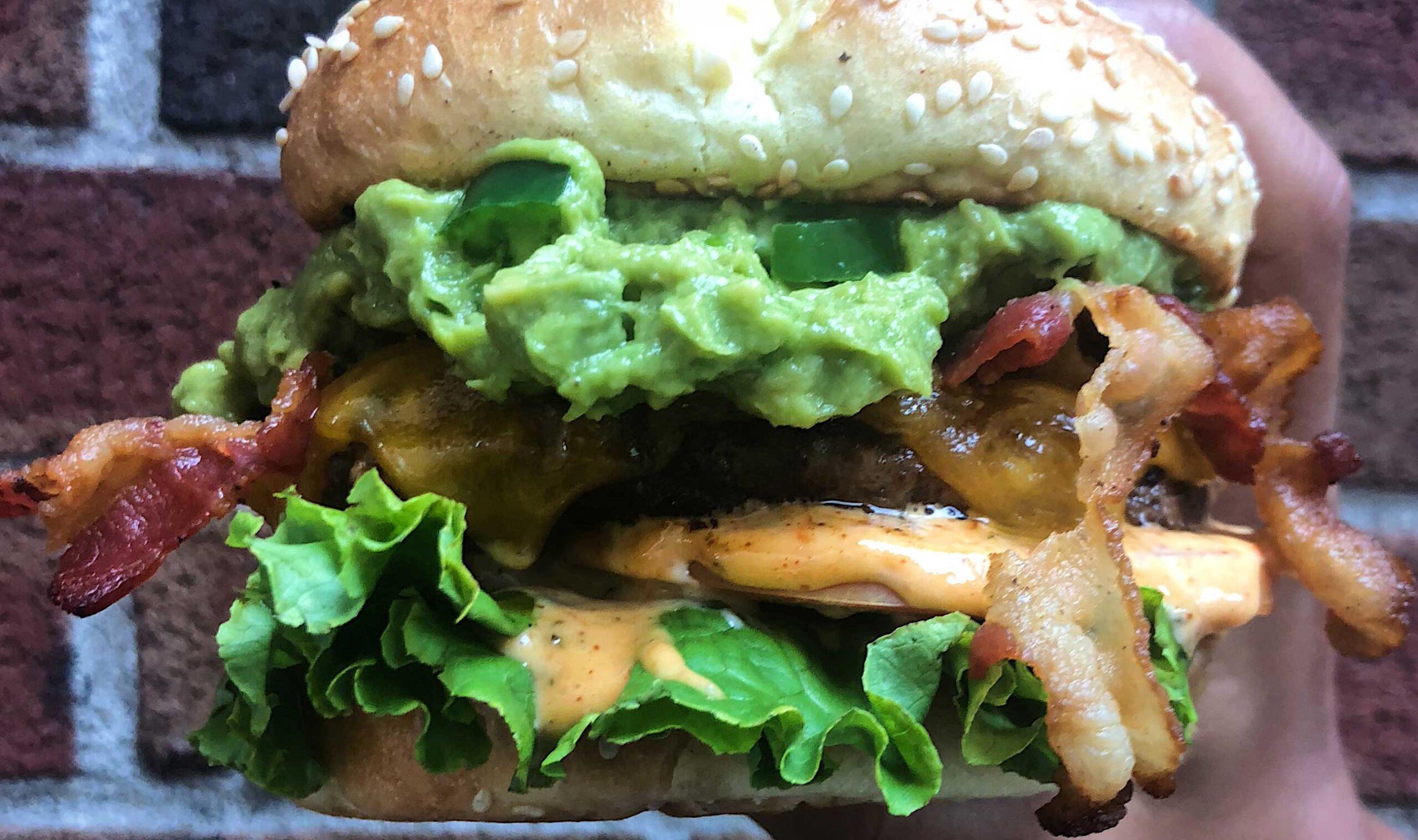 Mexi-Cali burger