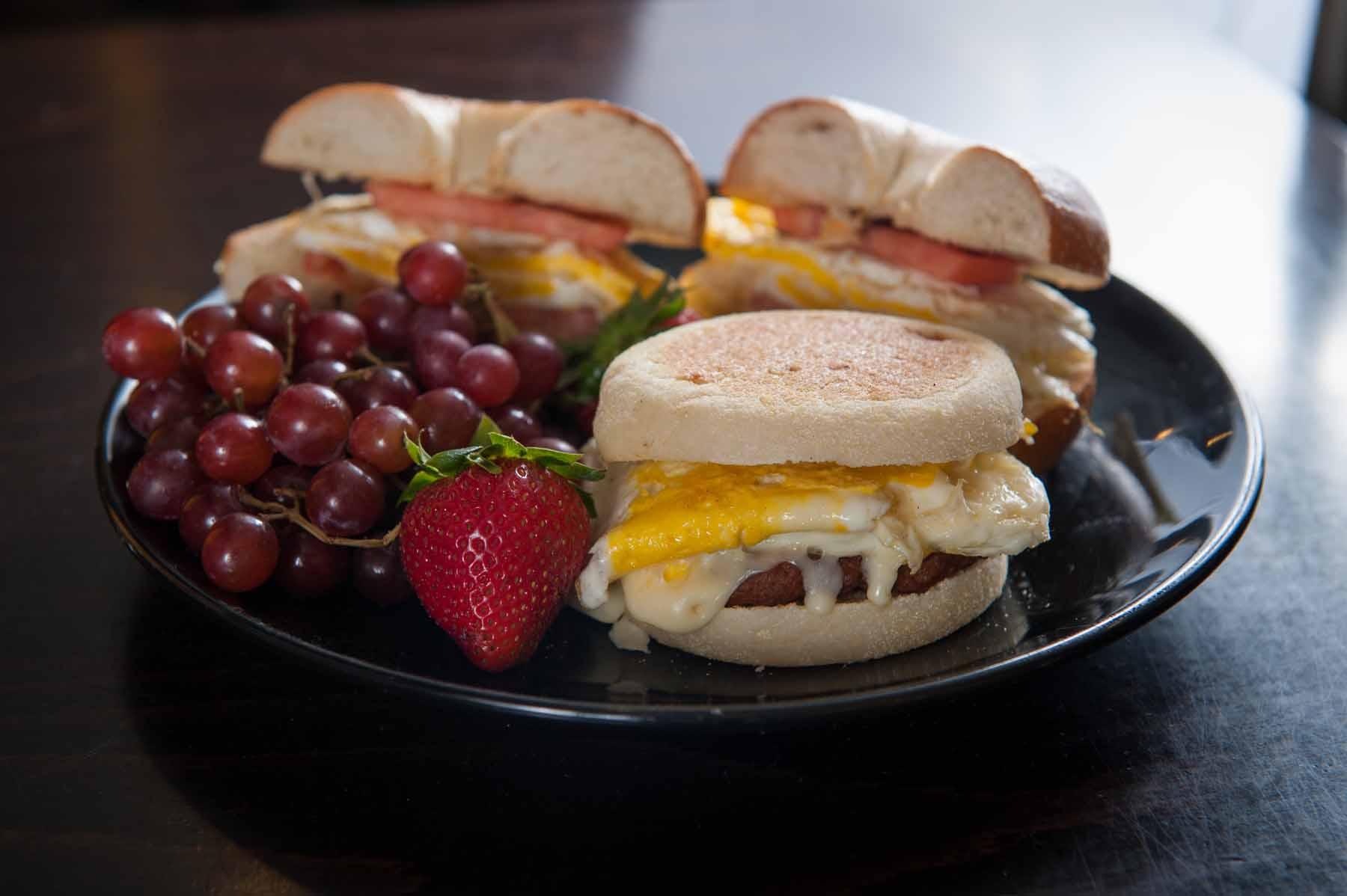 Breakfast Sandwich Platter
